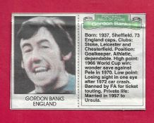 England Gordon Banks (DMHF)